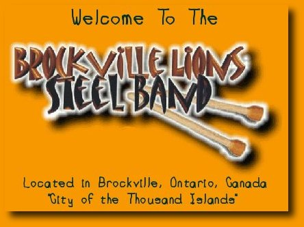 Home of the Brockville Lions Steel Band